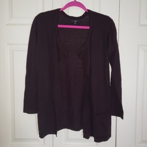 Open Front Cardi